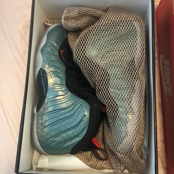 Nike Shoes - Nike Little Foam Posite - Gone fishing 6.5Y !